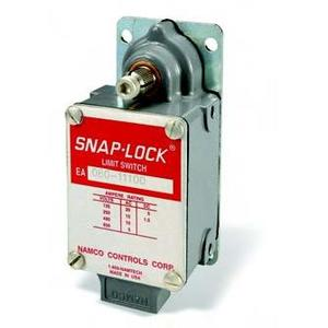 Namco Controls EA080-11100 Limit Switch, Standard Shaft, Side Rotary, Snap-Lock, SPDT