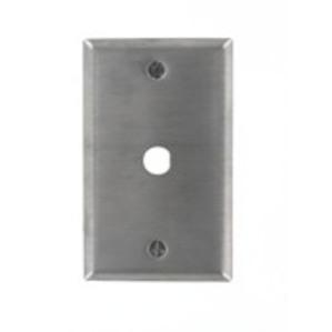 Leviton 84444-40 Wallplate, Stainless Steel