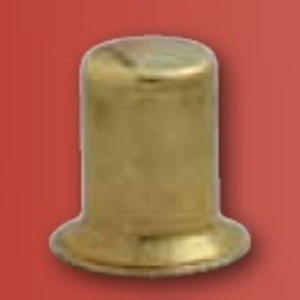 """Westinghouse Lighting 1635500 Shade Finial, Brass, 1/2"""" *** Discontinued ***"""