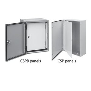 nVent Hoffman CSPB3020 Panel, Swing out, 30x20