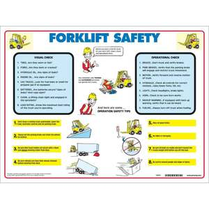 FLSP PRINZING FORK LIFT SAFETY POSTER TU