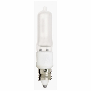 Satco S1913 35 WATT; HALOGEN; T4; FROSTED