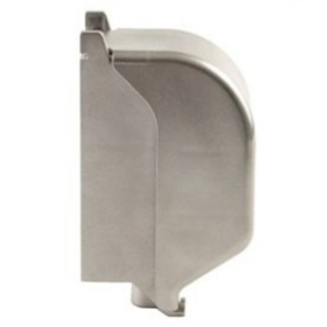 Calbrite S60000FVCD In-Use Cover, 1 Gang, Stainless Steel