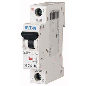 Eaton FAZ-C5/1-SP Breaker, DIN Rail Mount, 5A, 1P, 277/480VAC, 48VDC, 10 kAIC