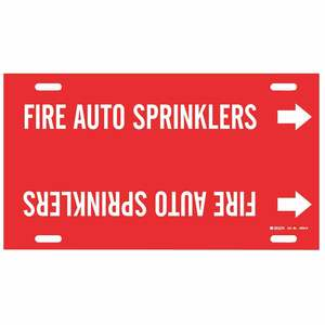 4059-H 4059-H FIRE AUTO SPRINKLERS RED/W