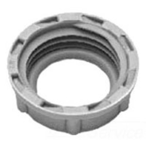 "Cooper Crouse-Hinds 933 Conduit Bushing, Insulating, 1"", Threaded, Plastic"
