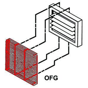 TPI OFG5101 Fan Grd For 3.3-5 KW 5100 Series Unt Htr