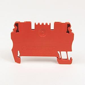 Allen-Bradley 1492-L2-RE Terminal Block, Feed Through, 15A, 300V AC/DC, Red, 4mm