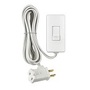 TBL03-10W WHT TABLE TOP LAMP DIMMER