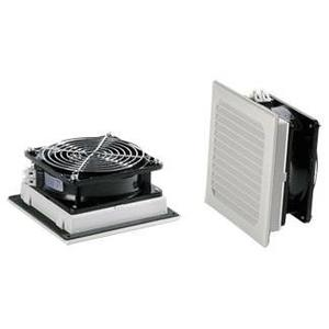 """nVent Hoffman SF0524414 Filter Fan, Side Mount, Diameter: 5"""", 24V, IP54, Gray, Non-Metallic *** Discontinued ***"""