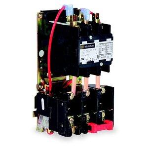Square D 8911DPSO23V02 Starter, Definite Purpose, 25A, 3P, 600VAC, Open, 120VAC Coil