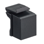 41084-BE (BAG OF 10)BLK BLANK QUICKPORT