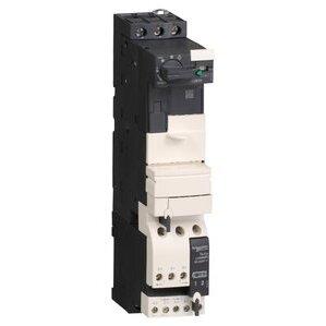 Square D LU2B12FU Starter, Power Base, TeSys, Reversing, 12A, 600VAC, 110/240VAC, Coil