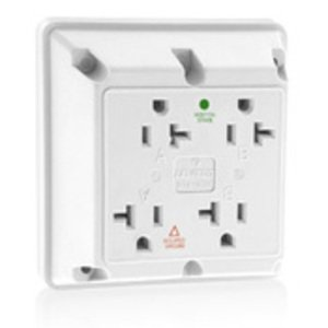 Leviton 21254-IGW 4 In 1 Iso Grnd White