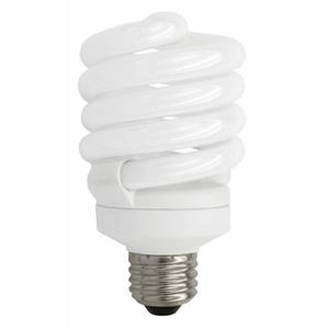 TCP 4891835K 18W, Spiral CFL, 1300 Lumen, 3500K, 120V