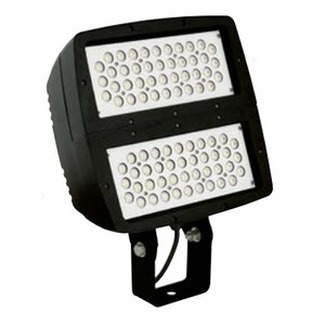 Hubbell-Spaulding ARF4-Y-84L5K-070-W-U-DB Flood Light, LED, 194W, 84-LEDs, 120-277V, Dark Bronze