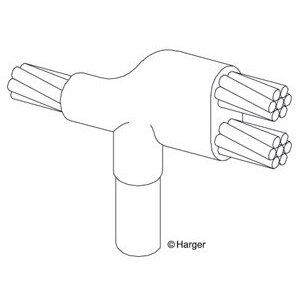 Harger Lightning & Grounding GT344K 4 STD TO 3/4 GRD ROD