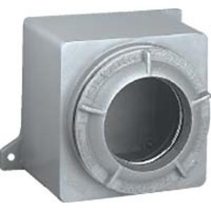 "Hubbell-Killark GRB-275L Conduit Outlet Box, Lens Cover, Opening: 3-29/32"", Aluminum"