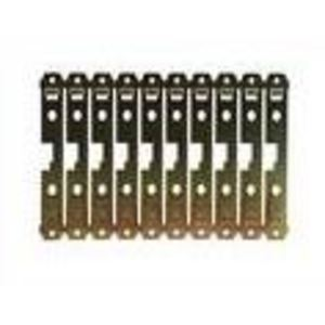 GE TQCBMPA10 Back Mounting Plate, Screw Type, 10P, for THQC Breakers