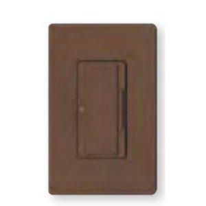 Lutron MA-L3L3-BR Dual Dimmer, Incandescent, Meastro, Brown
