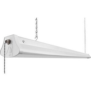 Lithonia Lighting 1290L-NST LED SHOPLIGHT WHITE BODY/WHITE ENDS 5FT WHITE CORD AND PLUG NEW STYLE