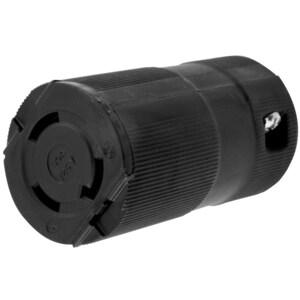 Hubbell-Wiring Kellems HBL2613VBK LKG VAL CONN, 30A