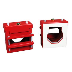 """Wiremold FS2R-RED Fire Stop Thru-Wall/Floor Fitting, 2"""" EMT, Red"""