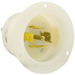 Leviton 2525 #2cd/flanged Inlet