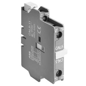 ABB CAL18-11B Contactor, Auxilary Contact, 1 NO/NC, A-Line, 600VAC, Side Mount