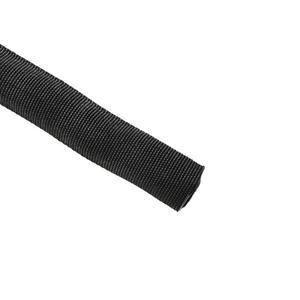"HellermannTyton 170-03203 Braided Sleeving, Heavy Duty, 1"", Black"