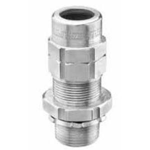 "Appleton TMC2-300325NB TMC2 Connector, 3"", Class I, Division, Nickel Plated Brass"