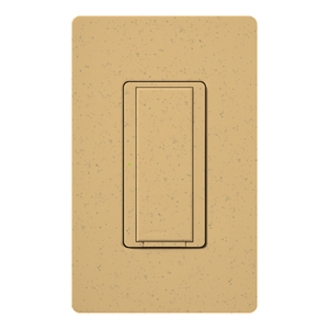 Lutron MSC-S8AM-GS Switch, 120V, 8A, Goldstone