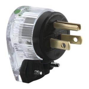 Eaton Wiring Devices 6266HGC PLUG HG 15A 125V 2P3W STR CL