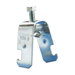 "nVent Caddy SCH12B Strut Conduit Clamp, Universal, 3/4"" EMT, 1/2"" Rigid, Steel"