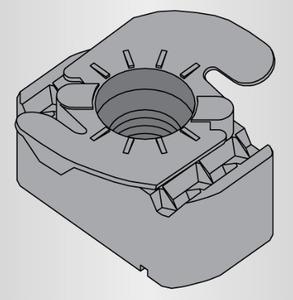 Power-Strut PSTG-3/8-ZD Atkore PS-TG-3/8-ZD