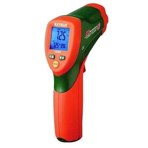 Extech 42509 ColorAlert Infrared Thermometer, 12:1