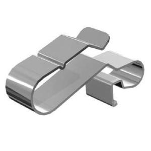 Burndy ACC-R2 Rail Clip, Attaches PV Wire To Rail, Stainless Steel