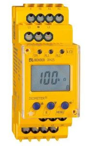Bender IR425-D4-1 Insulation Monitoring Device, 0-300V DC, 2 Response Values, LC Display
