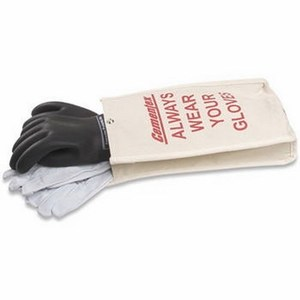 "Cementex IGK2-14-9B Insulated Electrical Glove Kit, Class 2, 14"", Size 9"