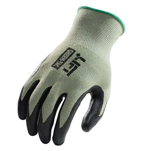 Lift Safety GPG-1GL Bamboo Liner Palmer Nitrile Dip Glove - Large
