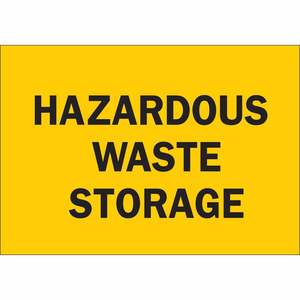 30673 HAZARDOUS WASTE STORAGE