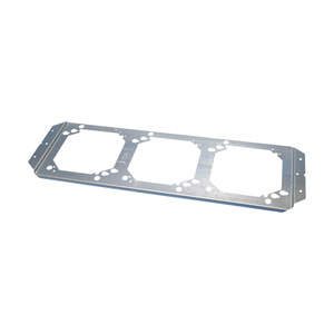 "nVent Caddy RBS16 Box Mounting Brackets, 4"" and 4-11/16"" Square, 3-Gang, Steel"