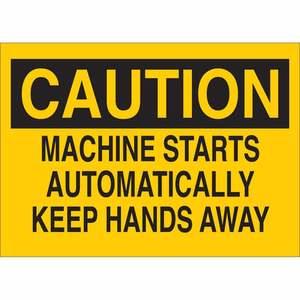 22919 MACHINE & OPERATIONAL SIGN