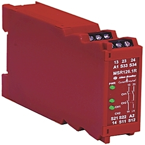 Allen-Bradley 440R-N23123 Relay, Single Function Safety, 24V AC/DC, MSR126RT