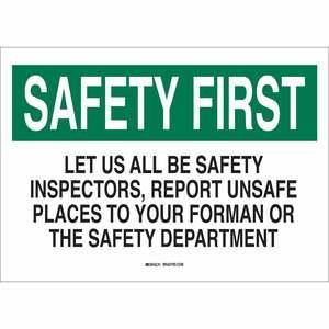 25317 SAFETY SLOGANS SIGN