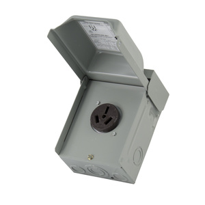 Midwest U050 50A, 1P, 120/240V, Temporary Power