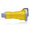 320C4W CONN WTITE PIN/SLEV 2P3W 20A125V
