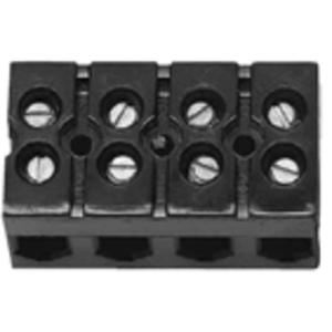 Marathon Special Products 985GP03 Terminal Strip, Heavy Duty, Deadfront, 4 to 18 AWG, 3 Circuits