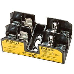 Eaton/Bussmann Series BC6031PQ Fuseblock, Class CC, 1-Pole, 30A, 600V,  Pressure Plate Terminal