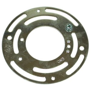 "Dottie SP34 Spider Plate, Universal Mount, Adapts to 3"" or 4"" Round Box, Steel"